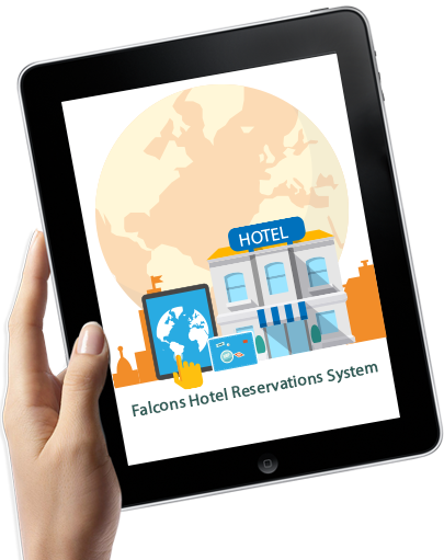 Falcons hotel reservations system falcons soft company for Reservation d4hotel