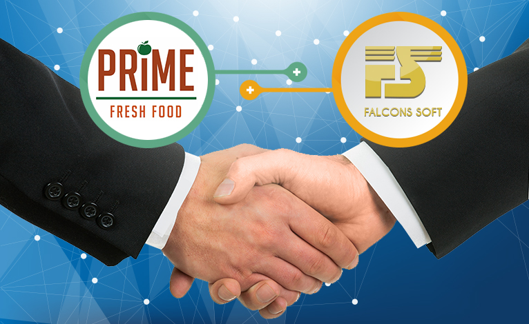 Prime Fresh Food SuperMarket is our new customer