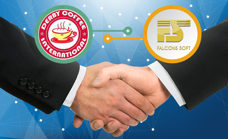 62 branches of Derby Coffee are supported by Falcons